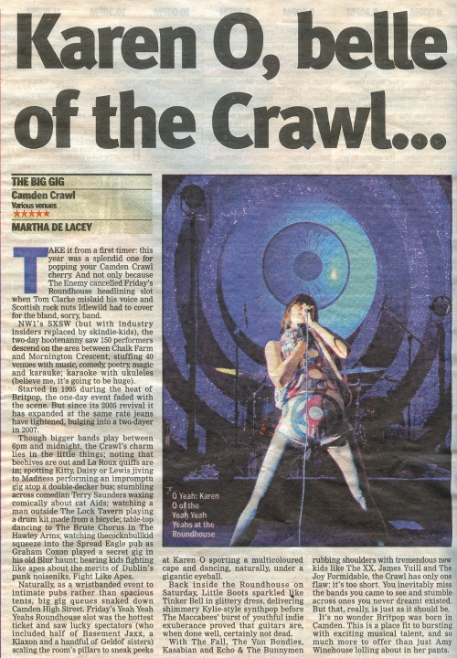 London Lite Newspaper 27 April 2009