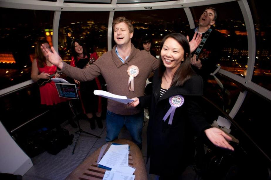 London Eye Karaoke